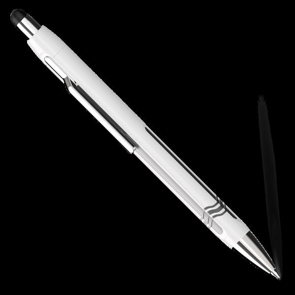 Schneider Epsilon Touch  Kugelschreiber XB weiss-silber 138701