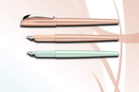 Calligraphy fountain pen Callissima enables exciting and beautiful handwriting.