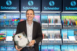 CEO Frank Groß proudly presents the German Brand Award Book 2017 including Schneider