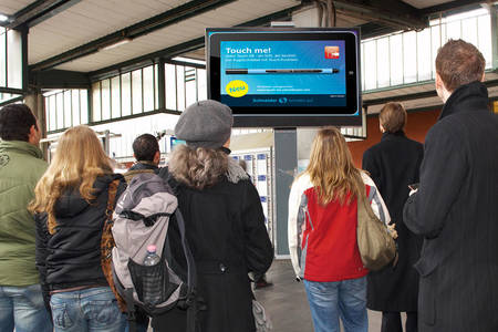 Eye-catching digital info-screens