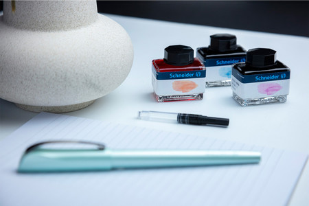 Fountain pen Calissima is available as a single pen or in a high-quality set.