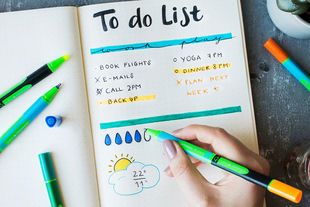 Link-It is perfect for spicing up agendas and bullet journals.