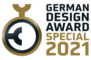 "Schneider a remporté le ""German Design Award"" 2021 (prix du design allemand)."