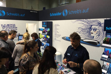 Schneider stand at the Didacta 2016 in Cologne