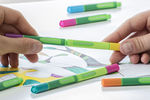 "Schneider's new fineliners and fibrepens ""Link-it"" are striking innovations with high quality and special design, functionality and sustainability."