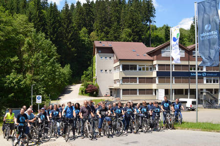 The company numbers 54 active cyclers on its staff