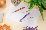 The new elegant ballpoint pen called Perlia comes in three trendy colours