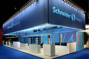 The new Schneider brand identity at the Paperworld