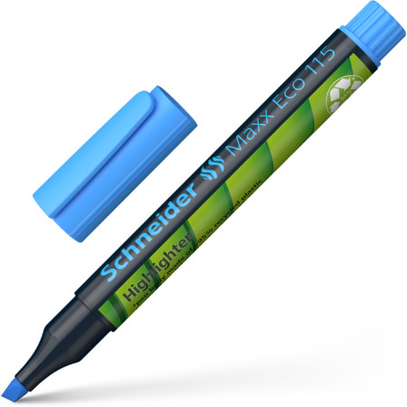 Maxx Eco 115 blue Line width 1+5 mm Highlighters von Schneider
