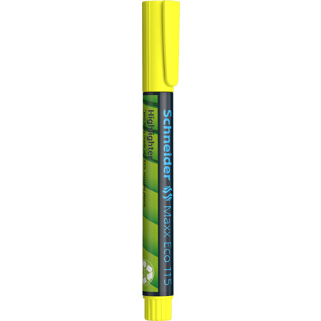 Maxx Eco 115 yellow Line width 1+5 mm Highlighters von Schneider