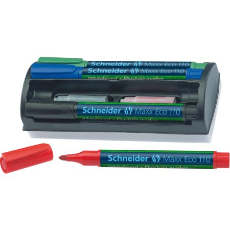 Maxx Eco 110 - Whiteboard-Kit Multipack Marker von Schneider