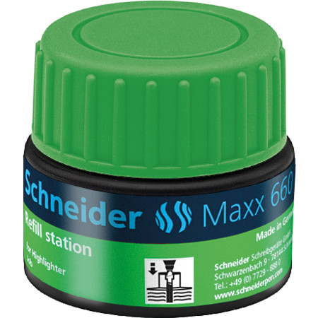 Refill station Maxx 660 green Accessories von Schneider