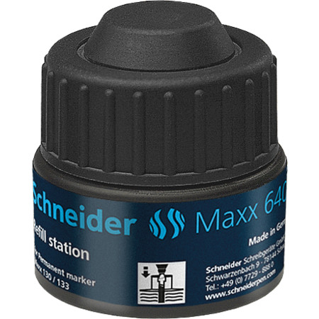 Refill station Maxx 640 black Accessories von Schneider