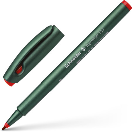 Topwriter 157 red Line width 0.8 mm Fineliners and fibrepens von Schneider