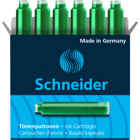 Ink cartridges green Accessories von Schneider