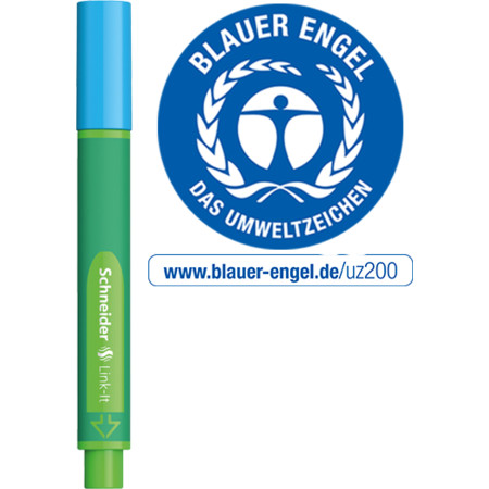 Link-It 1,0 mineral-blue Épaisseurs de trait 1.0 mm von Schneider