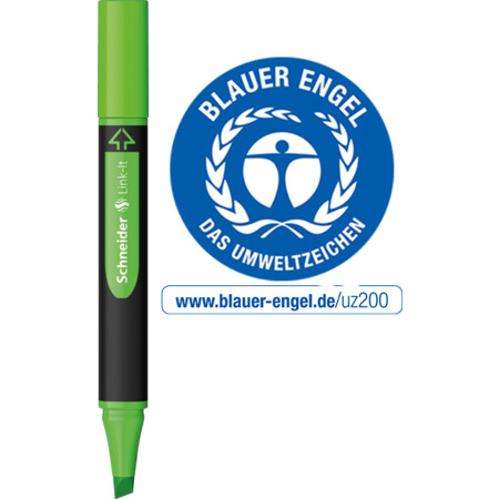 Link-It Highlighter zielony Grubość kreski 1+4 mm von Schneider