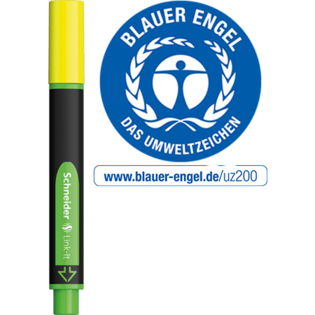 Link-It Highlighter yellow Line width 1+4 mm Highlighters von Schneider