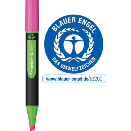 Link-It Highlighter różowy Link-It von Schneider