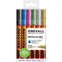 One4All 127HS 2 mm  Metallic-Set MP