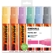 One4All 627HS 15 mm  Pastel-Set MP