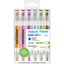 Aqua Twin 1 mm/2-6 mm Basic-Set 2 MP
