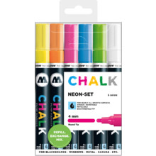 Chalk Marker 4 mm Basic-Set 2 MP