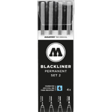 Blackliner Set 2 4er-Etui 0.3-1.0 mm MP