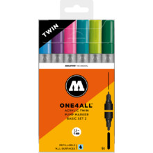 One4All AcrylicTwin Basic-Set 2 1.5-4 mm MP