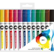 Aqua Color Brush Basic-Set 1