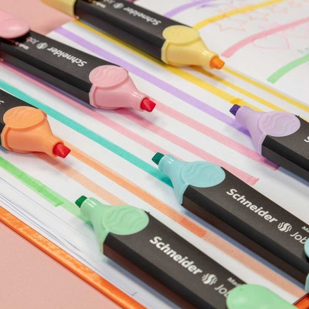 Job Pastel vanillla Line width 1+5 mm Highlighters von Schneider