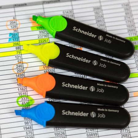 Job orange Line width 1+5 mm Highlighters von Schneider