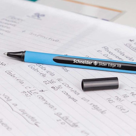 Slider Edge light blue Ballpoint pens von Schneider
